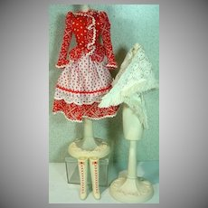 VIntage Mattel Barbie Country Music Outfit, Fashions 'N Sounds, 1971