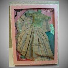 NRFB Dressmaker Details Couture  Plaid Tidings Outfit