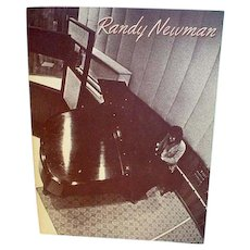 Vintage 1975 Randy Newman Songbook, Mint!
