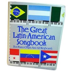 The Great Latin-American Songbook Rare, OP, 1985, 109 Songs!