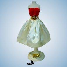 Vintage Mattel Barbie Outfit, Silken Flame, 1960, TM Version!