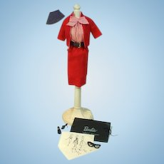 Vintage Mattel Barbie Outfit, Busy Gal, 1960, Complete!