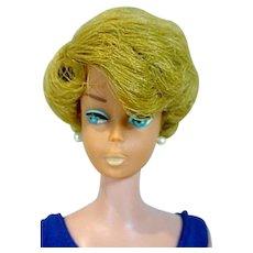 Vintage Mattel Blond Side Part Barbie Bubble Cut, 1960's