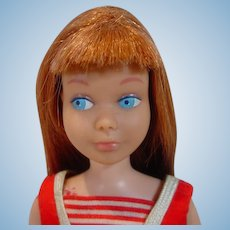 Vintage Mattel 1964  Skipper Doll with Red Hair