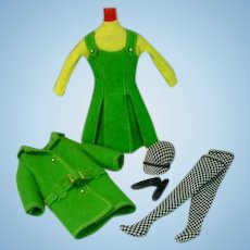 VIntage Mattel Skipper OUtfit, Town Toys, 1965