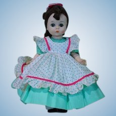 Madame Alexander Little Lady 8 Inch Doll, Wendy Face 1960