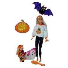 Mattel Happy Halloween Barbie and Kelly Set, 1996