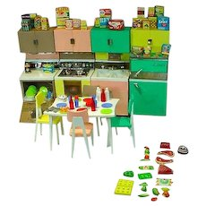 Deluxe Reading 1963 Dream Kitchen....Barbie!!
