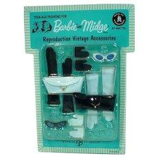MOC Barbie and Midge Reproduction Vintage Accessories Pack, Mattel