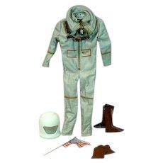 Vintage Mattel Ken Outfit, Mr. Astronaut, 1965, Complete!