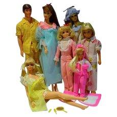 Vintage 60's 70's Mod Barbie & Friends Lot!