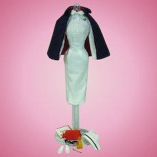Vintage Mattel Barbie Outfit, Registered Nurse, 1961, Complete