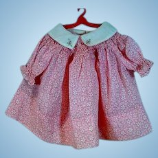 Vintage 1930's Shirley Temple Style Doll Dress