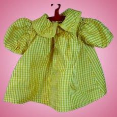 Vintage 1950's Silk Doll Dress