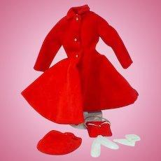 Vintage Mattel Skipper Outfit, Dress Coat, 1964