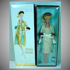 NRFB Barbie Gold Label Vintage Reproduction Evening Splendor Barbie