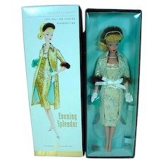 NRFB Barbie Gold Label Vintage Reproduction Evening Splendor Barbie