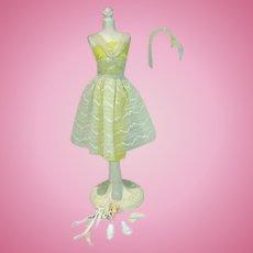 Vintage Mattel Barbie Outfit, Orange Blossom, 1961