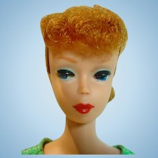 Vintage Mattel 1961 Barbie Ponytail With Red Hair