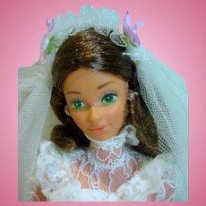 Vintage Mattel Tracy Bride/Barbie Friend, 1982