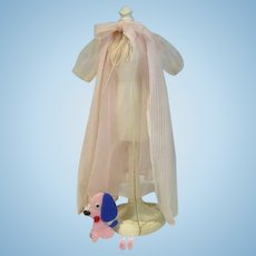 Vintage Mattel Barbie Outfit, Nighty Negligee Set, 1960