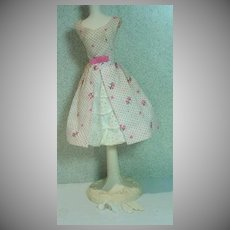 Vintage Mattel Barbie Outfit, Garden Party, 1962