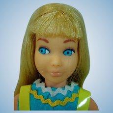 Vintage Blond Reissue Skipper, 1970 in Rik Rak Rah Outfit