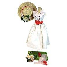 Lovely Madame Alexander Cissy Size Spring Dress Ensemble, 1950's