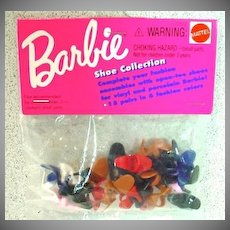 Mattel Vintage Barbie Shoe Pack, NRFB, 1993