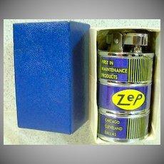 MIB ZEP Manufacturing Barrel Shaped Lighter, Japan