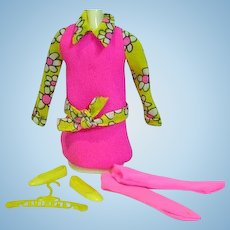 Vintage Mattel Skipper Outfit, Daisy Crazy, 1970