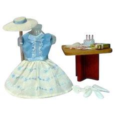 Vintage Mattel Skipper Outfit, Happy Birthday, 1965