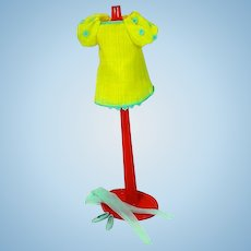 Mattel Francie Outfit, The Yellow Bit, 1969, Complete