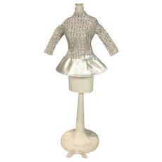 Vintage Mattel Barbie Outfit, Silver Sparkle, 1969