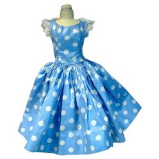 Vintage Madame Alexander CIssy Day Dress, 1950's, Rare!