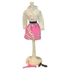 Vintage Mod Mattel Barbie Outfit, Pretty Power, 1969