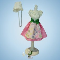 Vintage Mattel Barbie Outfit, Barbie In Switzerland, 1964