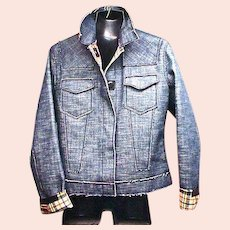 Ladies Jean-Paul Gautlier, JPG Jeans Denim Jacket