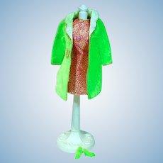 Vintage Mattel Barbie Outfit, Velvet Venture, 1969