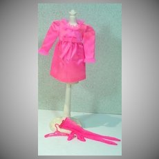 Vintage Mattel Barbie Outfit, Little Bow-Pink, 1969
