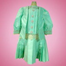 Vintage Handmade Repro 1920's Style Doll Dress