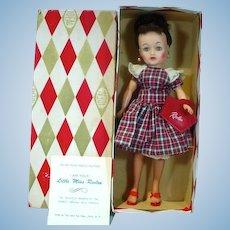 MIB Ideal Brunette High Color Little Miss Revlon Doll, 1950's