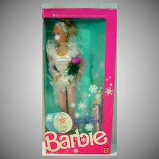 NRFB Mattel 1988 Olympic Skating Star Barbie Doll