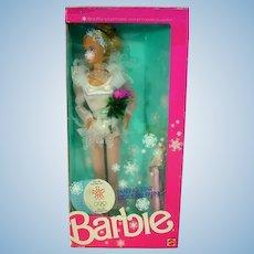 NRFB Mattel 1988 Olympic Skating Star Barbie Doll