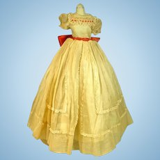 Vintage Madame Alexander Cissy Summer Gown, 1955, As Is