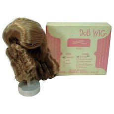 VIntage Mint in the Original Box Dynel Doll WIg by Dollparts, 1960's