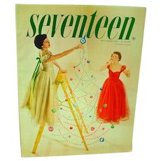 Vintage Seventeen Magazine, December 1950