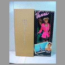 NRFB Totsy Ltd. Ed. Paris Vanna White  Fashion Doll, 1990's