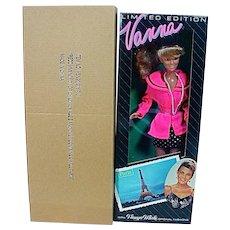 NRFB Totsy Ltd. Ed. Paris Vanna White  Fashion Doll, 1990's