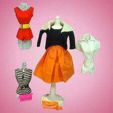 VIntage Mattel Barbie Pak Items, 1963